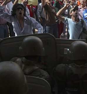 Honduras-coup-riot-police-protests